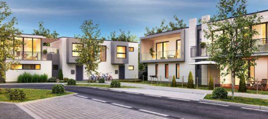 Maisons neuves et appartements neufs dans la ville du Mans